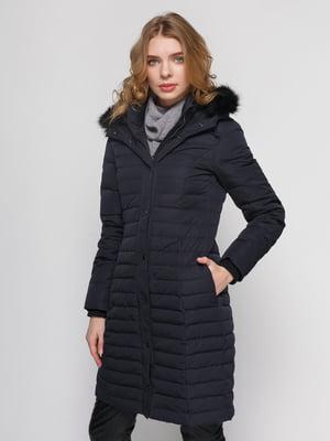 Пальто темно-синее | 4875092