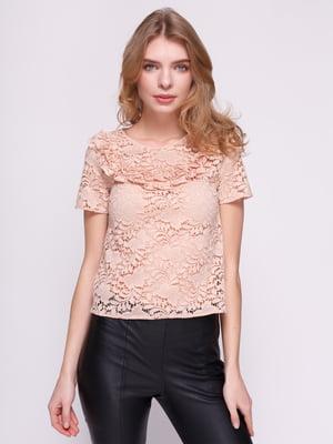 Блуза рожева | 4874707