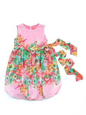 Сукня в квітковий принт | 4891346