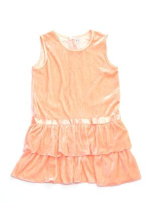Сукня персикового кольору | 4891406