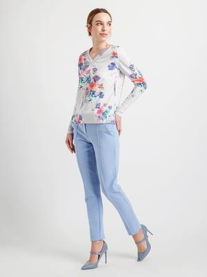 Пуловер в квітковий принт | 4891263