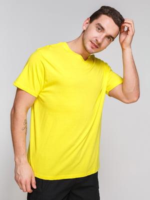 Футболка желтая | 4854998