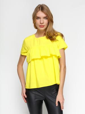 Блуза желтая   4871067