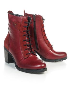 Ботинки красные | 4771470