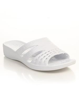 Шлепанцы белые | 4890426