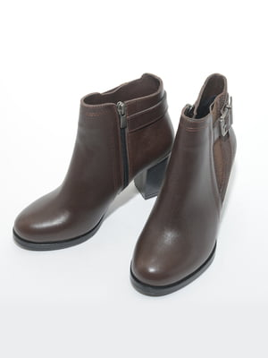 Ботинки коричневые   4887076
