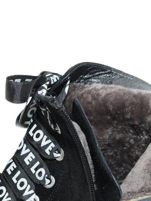 Ботинки черные | 4887083