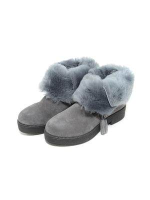 Ботинки серые | 4887085