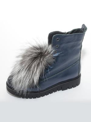 Ботинки синие | 4887177