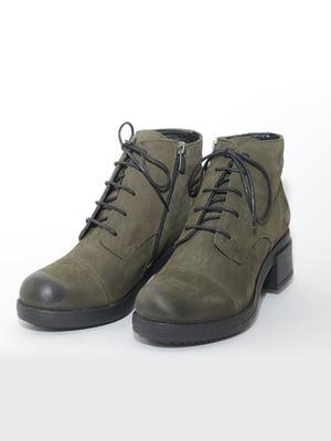 Ботинки цвета хаки | 4887179