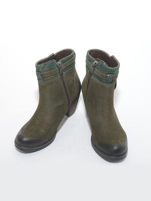 Ботинки цвета хаки | 4887256