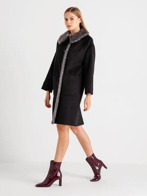 Пальто черное   4891282