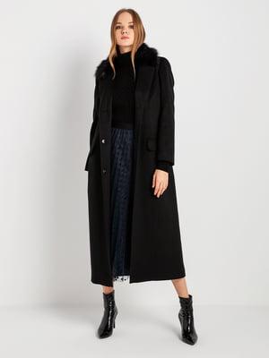 Пальто черное   4891291