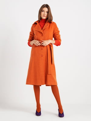 Пальто абрикосового цвета | 4891304