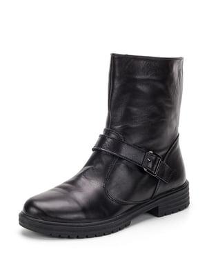 Ботинки черные   4885507