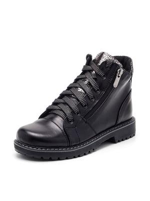 Ботинки черные   4885509
