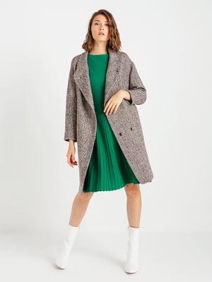 Пальто коричневое | 4891301