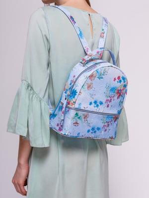 Рюкзак у квітковий принт | 4145423