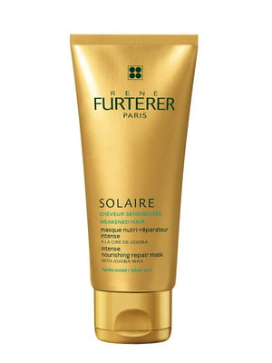 Маска для волос интенсивная восстанавливающая с воском жожоба «Защита от солнца» (100 мл) - Rene Furterer - 4776377