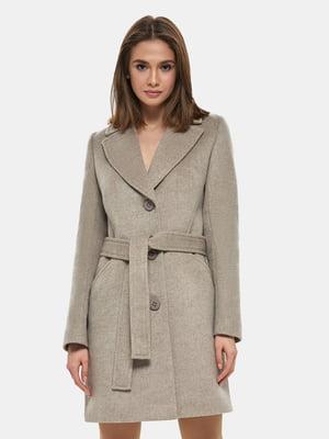 Пальто бежевое | 4891703