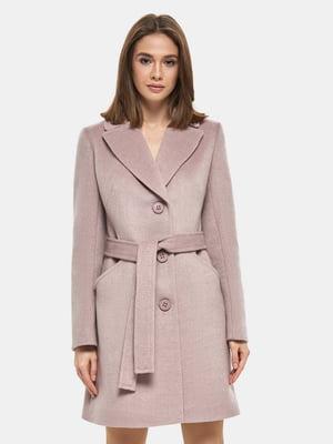Пальто розовое | 4891708