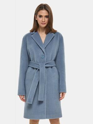 Пальто голубое | 4891713