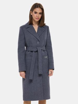 Пальто синее   4891715