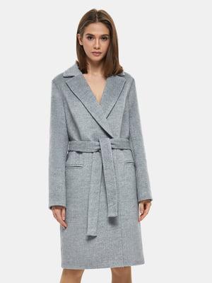 Пальто серое - DANNA - 4891717