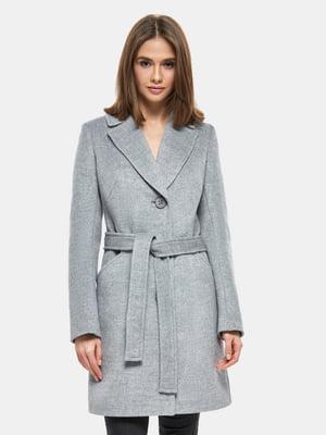 Пальто серое   4891719