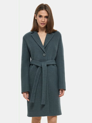 Пальто зеленое | 4891720