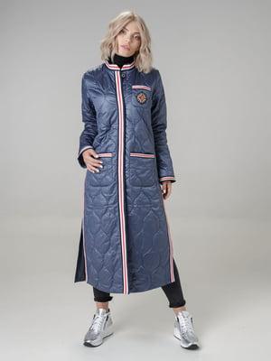 Пальто синее | 4886358