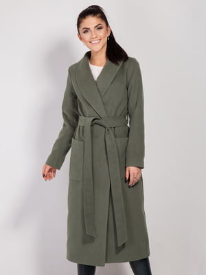 Пальто цвета хаки | 4187651