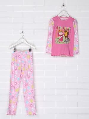 Пижама: лонгслив и брюки | 4892221