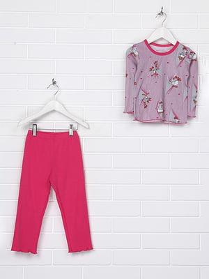 Пижама: лонгслив и брюки | 4892222
