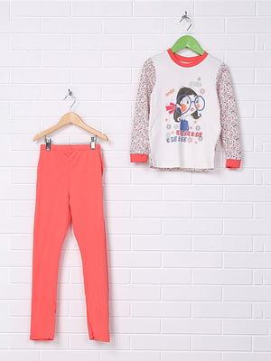 Пижама: лонгслив и брюки | 4892355