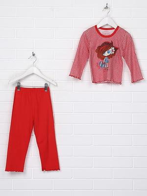Пижама: лонгслив и брюки | 4892642