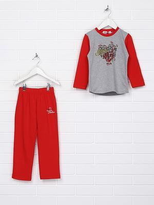 Пижама: лонгслив и брюки | 4893000