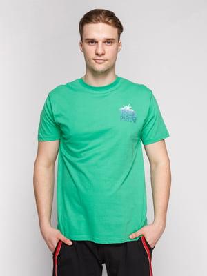 Футболка светло-зеленая | 4854881