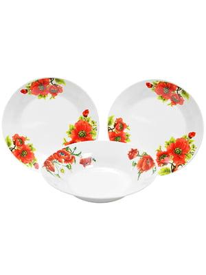 Набор столовой посуды (18 предметов) | 4891726