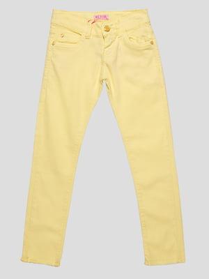 Брюки желтые   4890771