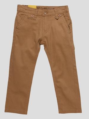 Штани коричневі | 4890845