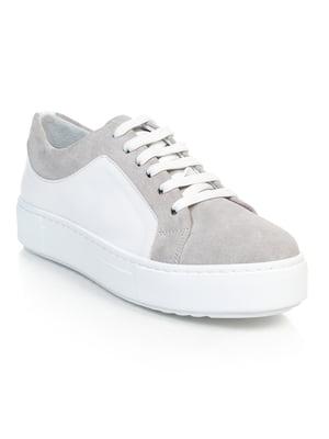 Кросівки біло-сірі   4874810