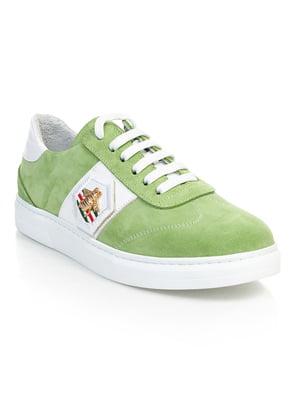 Кроссовки зеленые   4880104