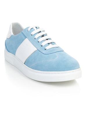 Кроссовки голубые | 4880103
