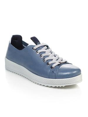 Кроссовки синие | 4874798