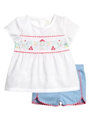 Комплект: футболка и шорты | 4894322