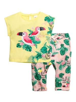 Комплект: футболка і штани | 4894327