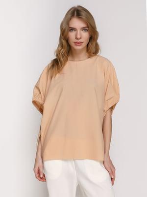 Блуза песочного цвета | 4874068