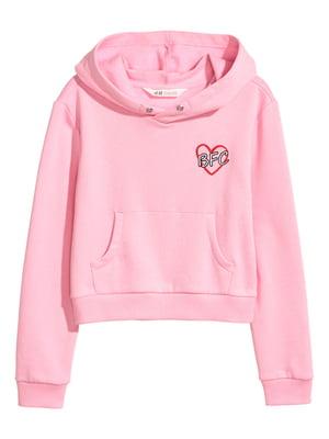 Худи розовая | 4895511