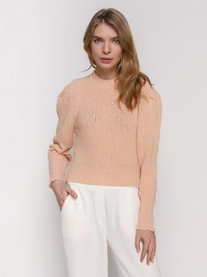 Джемпер персикового цвета | 4873119